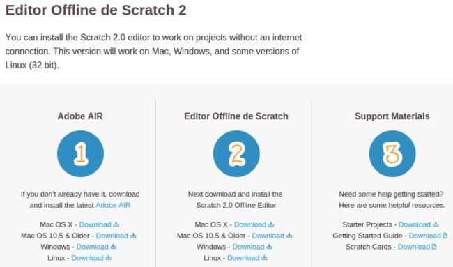 Instalar Scratch 20 offline